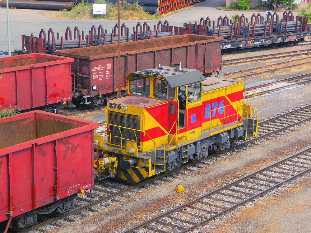 Güterverkehr in Mülheim/Ruhr