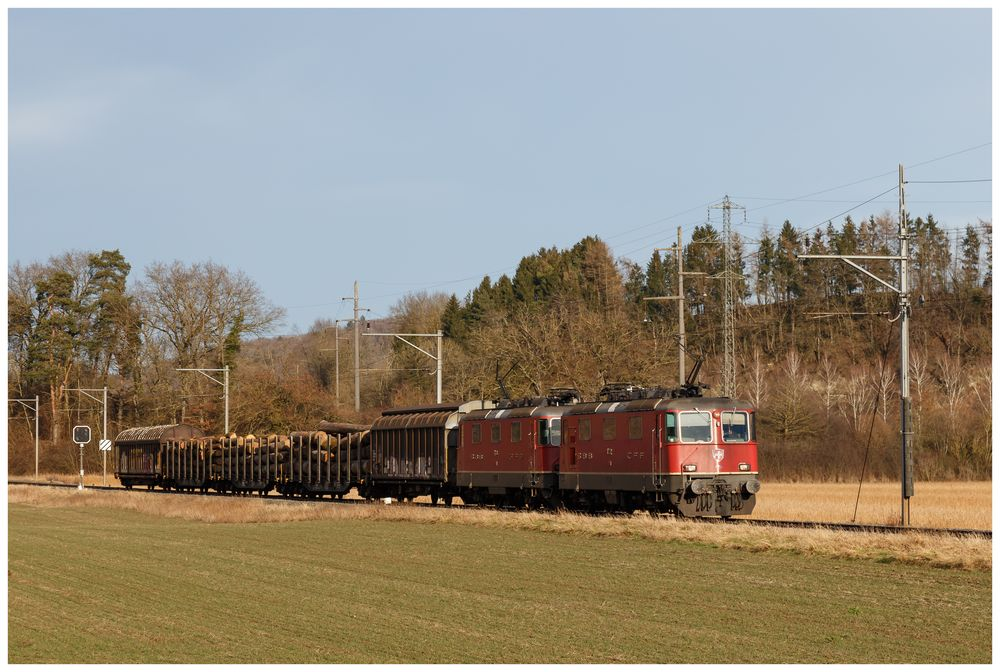 Güterzug 61462 Payerne - Renens