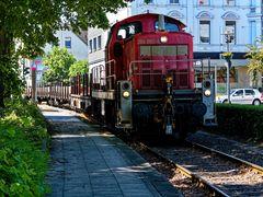 Güterzug am Nirgena
