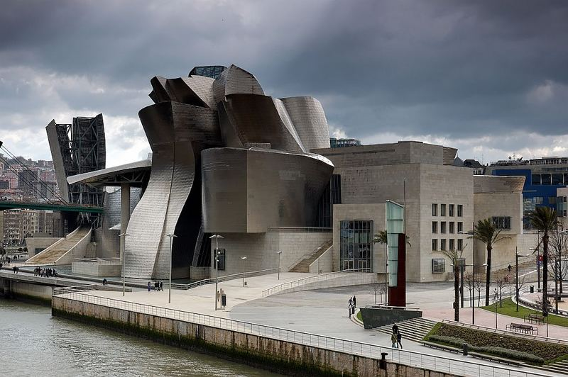 Guggenheim Museum in Bilbao/Spanien