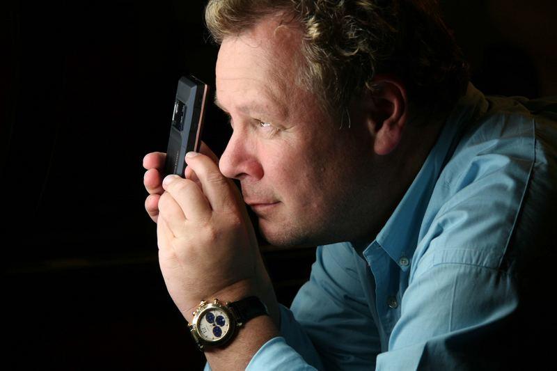 Guido Karp mit seinem Kamera-Equipment :-)