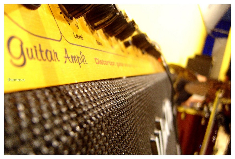 "Guitar Ampli ""Warm Music"""