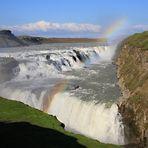 Gullfoss - Der goldene Wasserfall auf Island