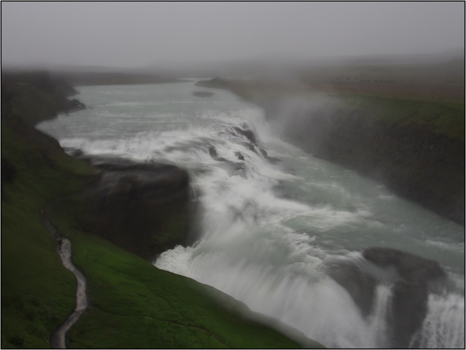 Gullfoss-Sturmflut :-)