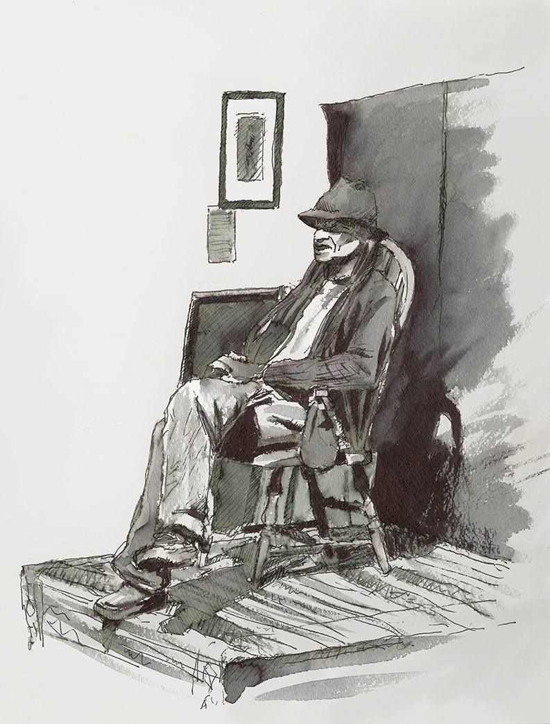 Gully at The Fine Arts League of the Carolinas
