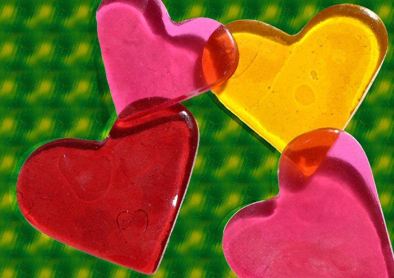 Gummibärchen können lieben