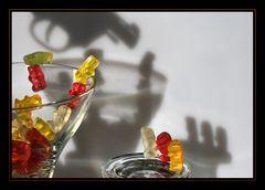 Gummibären - Fluchtversuch