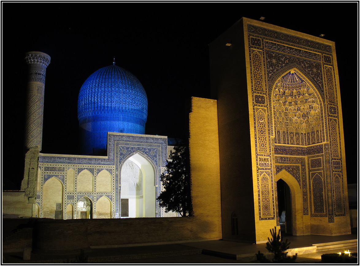 Gur-e Amir (Nacht) - Samarkand - Uzbekistan