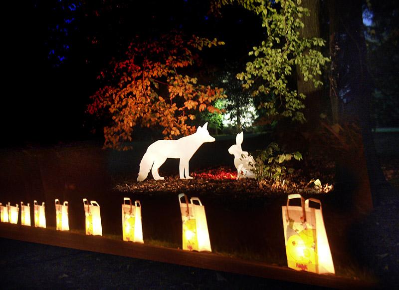 gute Nacht, Fuchs......gute Nacht, Hase
