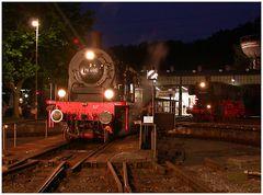 Gute Nacht ;-) Heut Abend im Eisenbahnmuseum