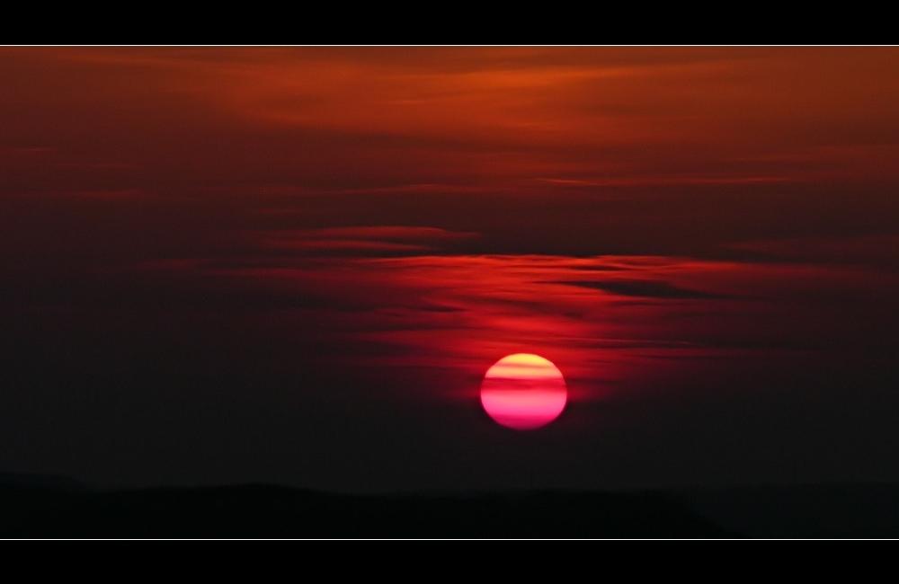 .... gute Nacht Sonne ....