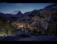 Gute Nacht Zermatt...