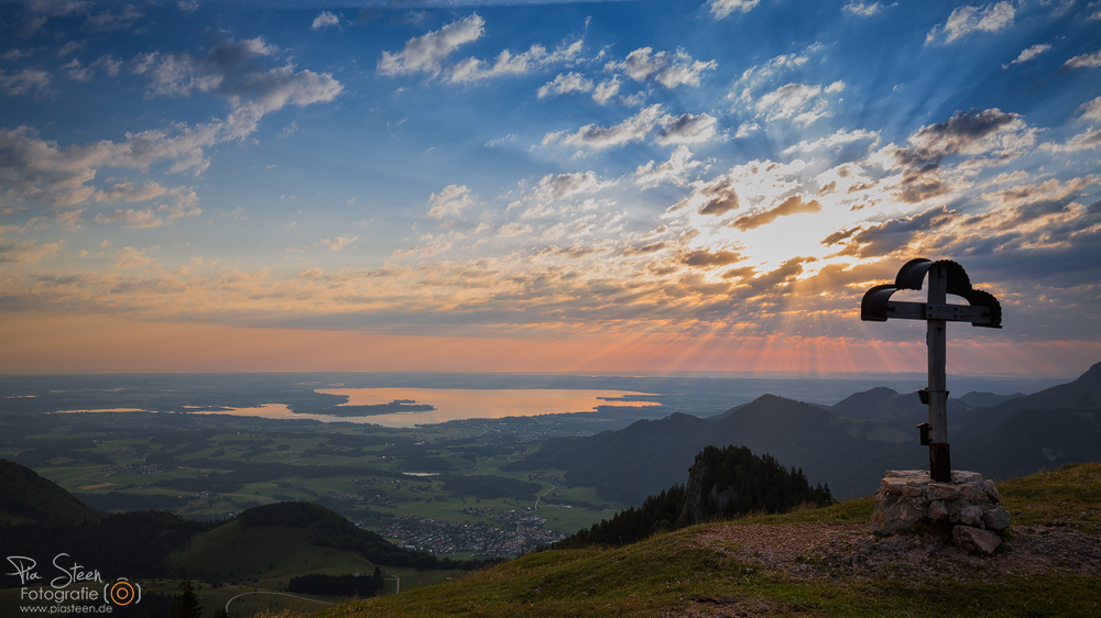Guten Morgen Bayerisches Meer Foto Bild Landschaft Bach