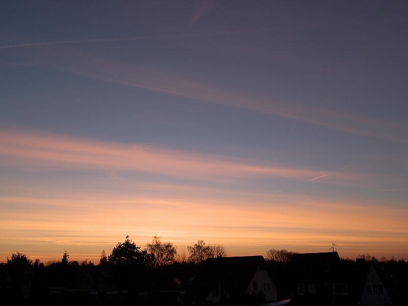 Guten Morgen bei -10C in Neuss-Grimlinghausen