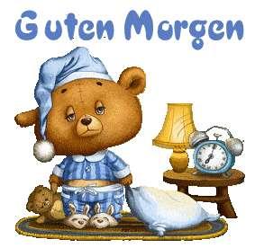 Guten Morgen Foto Bild Scraps Smileys Bärchen Guten