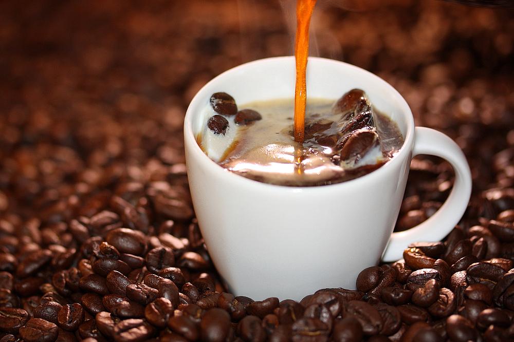 Guten Morgen Der Kaffee Ist Fertig Foto Bild