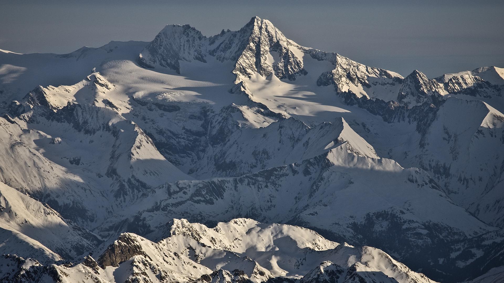 Guten Morgen Grossglockner Foto Bild Winter Schnee