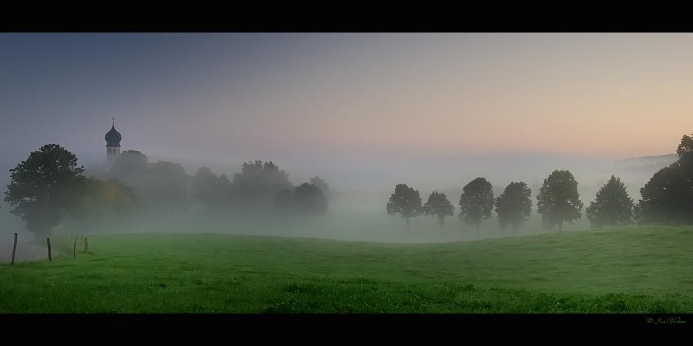 Guten morgen in Oberbayern
