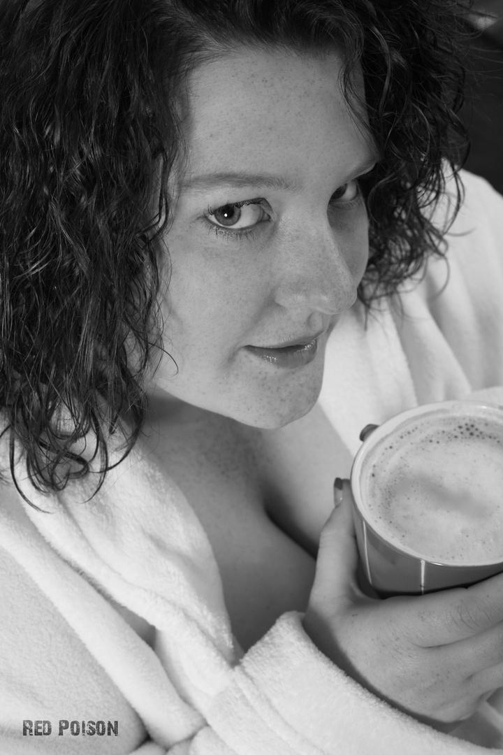 Guten Morgen Kaffee Foto Bild Portrait Portrait Frauen