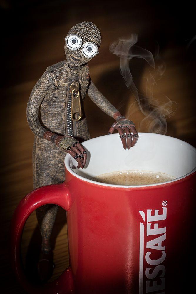 Guten Morgen Kaffee Ist Fertig Foto Bild Stillleben