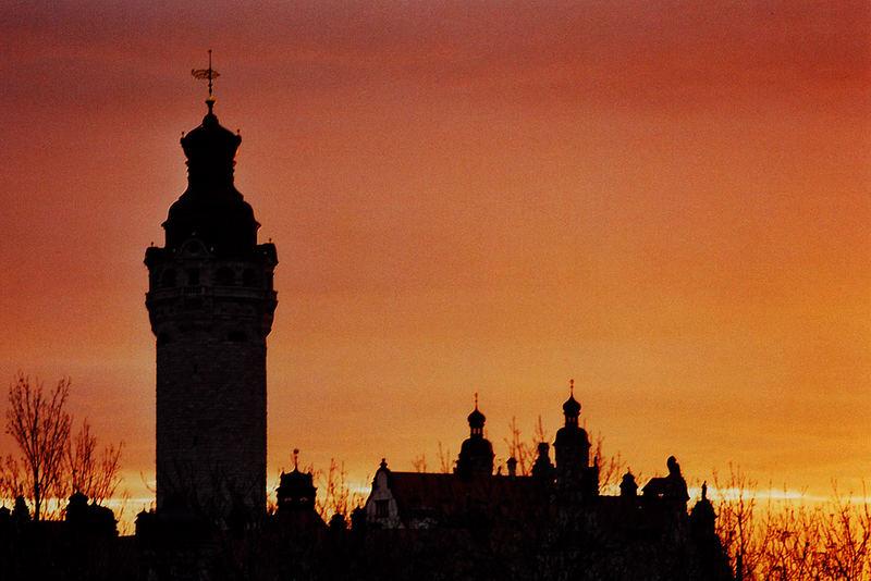 Guten Morgen Leipzig Foto Bild Architektur