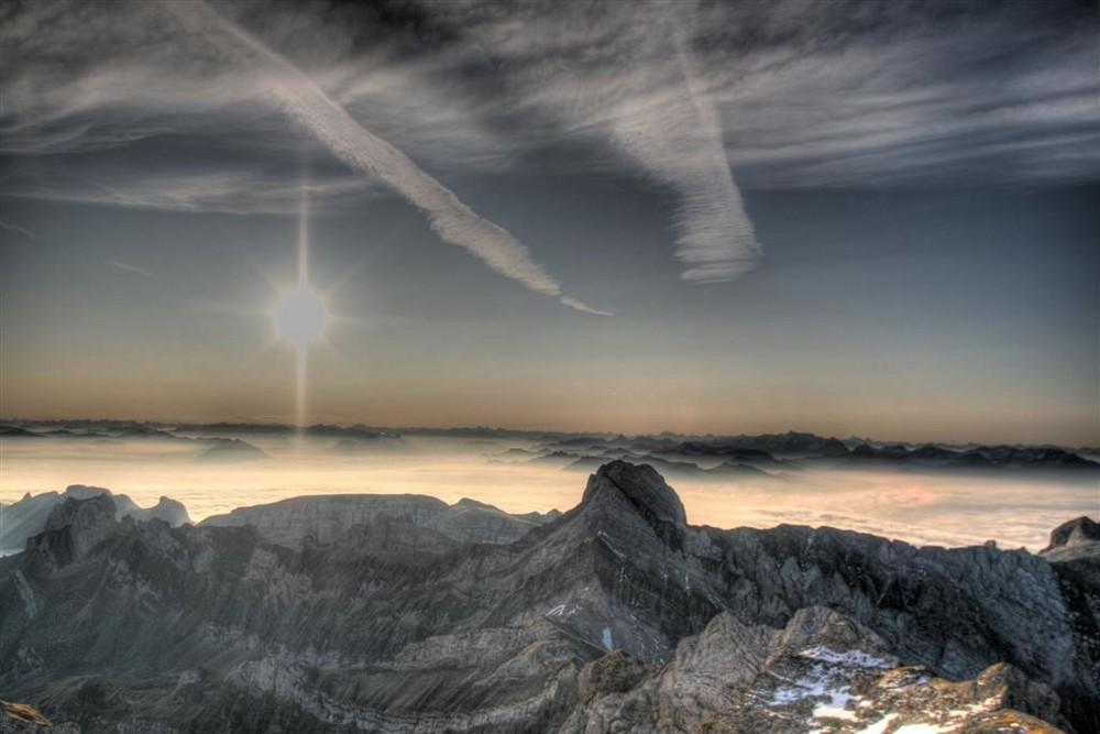 Guten Morgen Schöne Schweiz Foto Bild Landschaft Berge