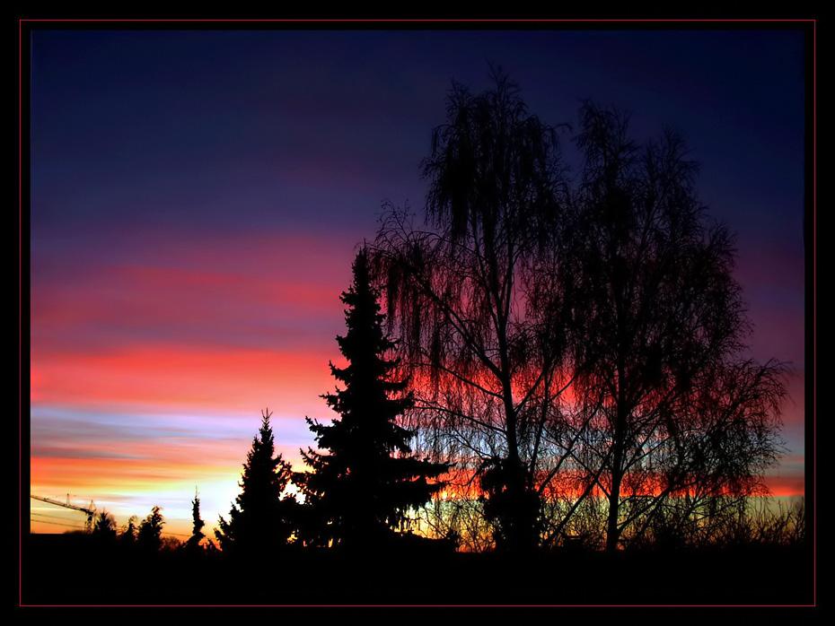 guten morgen sonnenschein foto bild sonnenaufg nge himmel universum gegenlicht. Black Bedroom Furniture Sets. Home Design Ideas