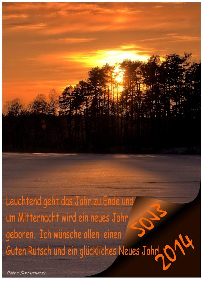 Guten Rutsch in´s 2014 Foto & Bild | karten und kalender ...