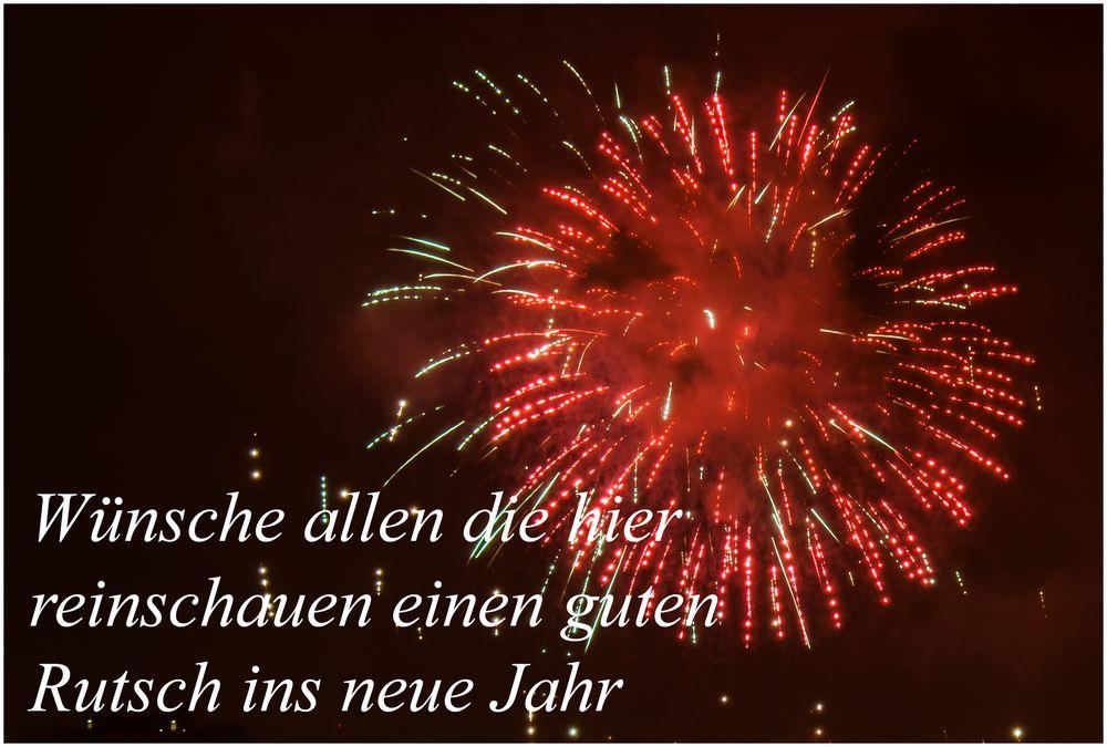 WГјnsche Allen Einen Guten Rutsch Ins Neue Jahr