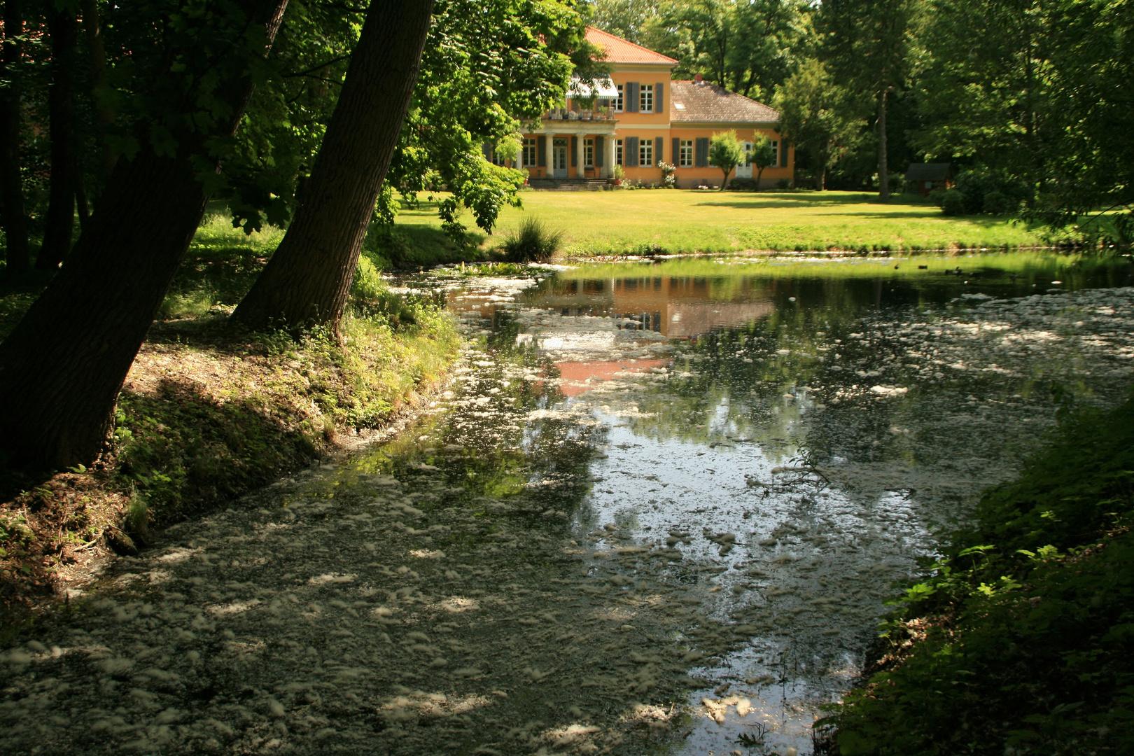 Gutshof Mahndorf - hier werden Eigentumswohnungen enmtstehen.