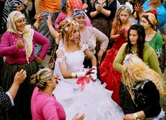 Gypsies wedding ceremony
