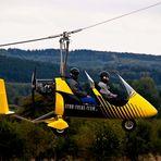 Gyrocopter ganz nah