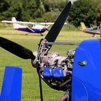 """Gyrocopter  in """" Blau """" für:"""