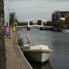 Haarlem, Zugbrücke