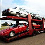 hab meinen Wagen voll geladen ...