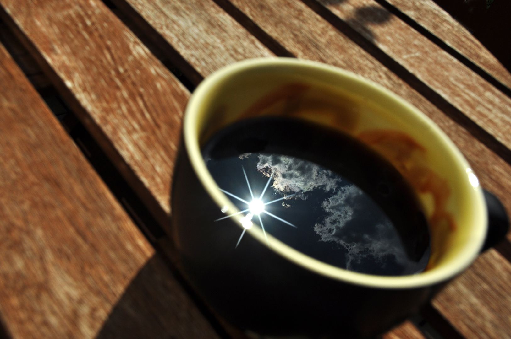 Habe Sonne im Kaffee