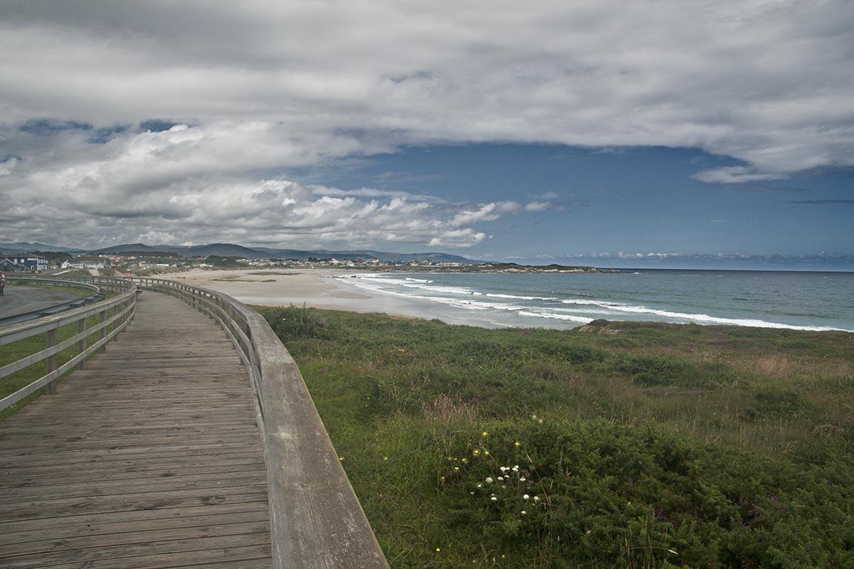 Hácia la playa