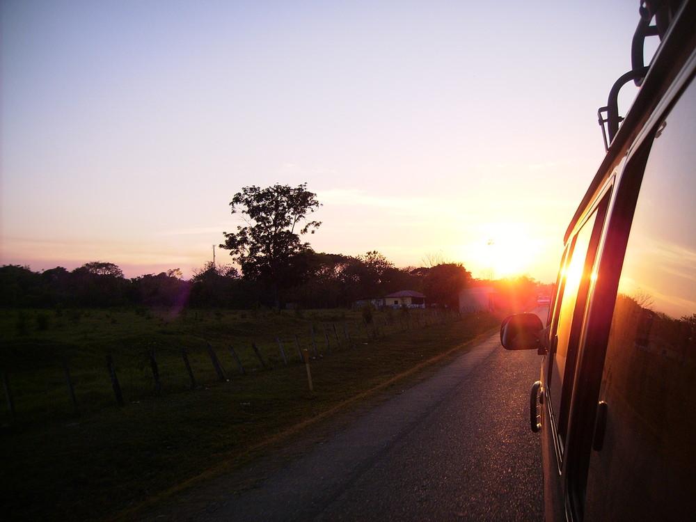 hacia Peten, Guatemala