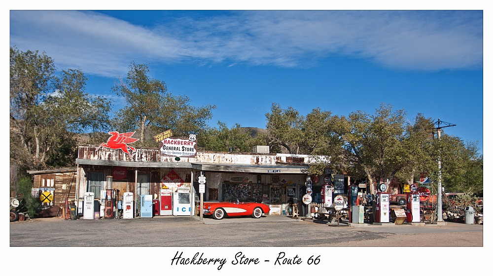 Hackberry Store Route 66 - once more with feeling