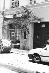 Hackesche Höfe (Baum, Boutique, Auto)