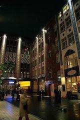 Hackesche Höfe bei Nacht