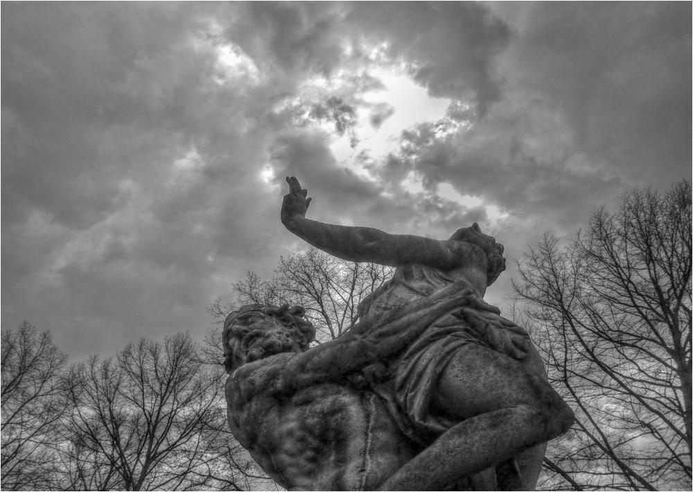 Hades beim Raub der Persephone