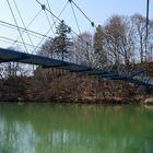 Hängebrücke Fischers - Pfosen