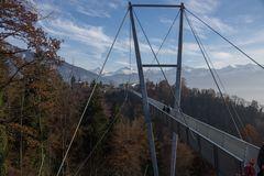 Hängebrücke zwischen Sigriswil und Aeschlen