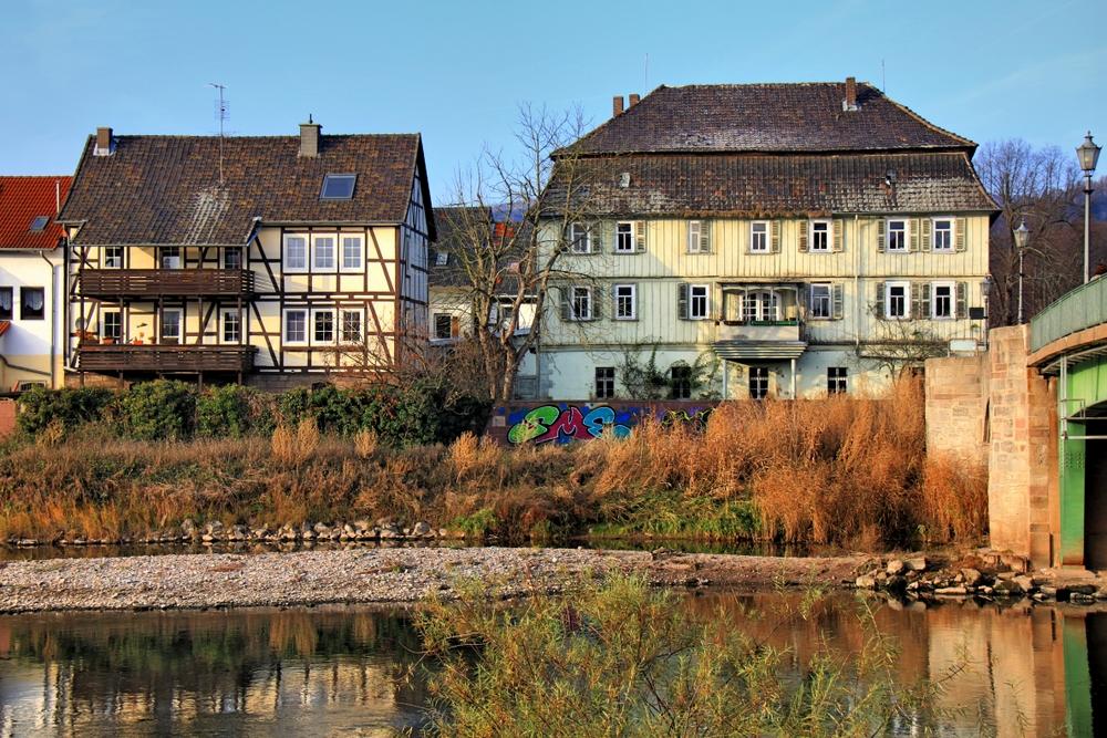 Häuser an der Werra (3)