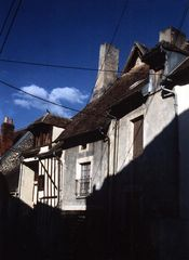Häuser im Burgund