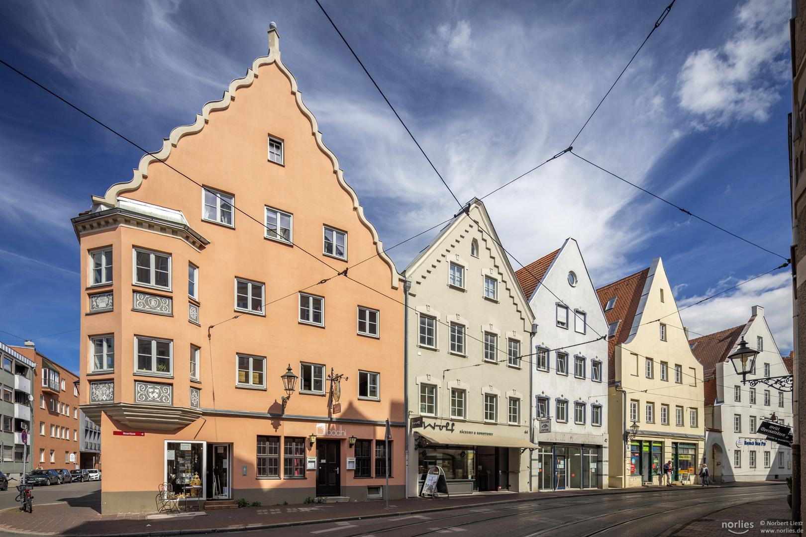 Häuser in der Frauentorstraße