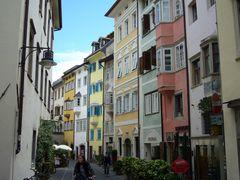 Häuserfassade in Bozen (Südtirol)