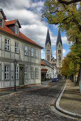 Häuserfront am Marktplatz