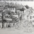 Häuserfront-Ansicht 1...
